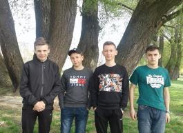 Команда обл. змагань з повітр. зміїв