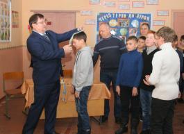 Нагородження переможців міським головою Сидором В.Б.